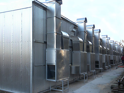Wood dryer heat recovery units recuperators